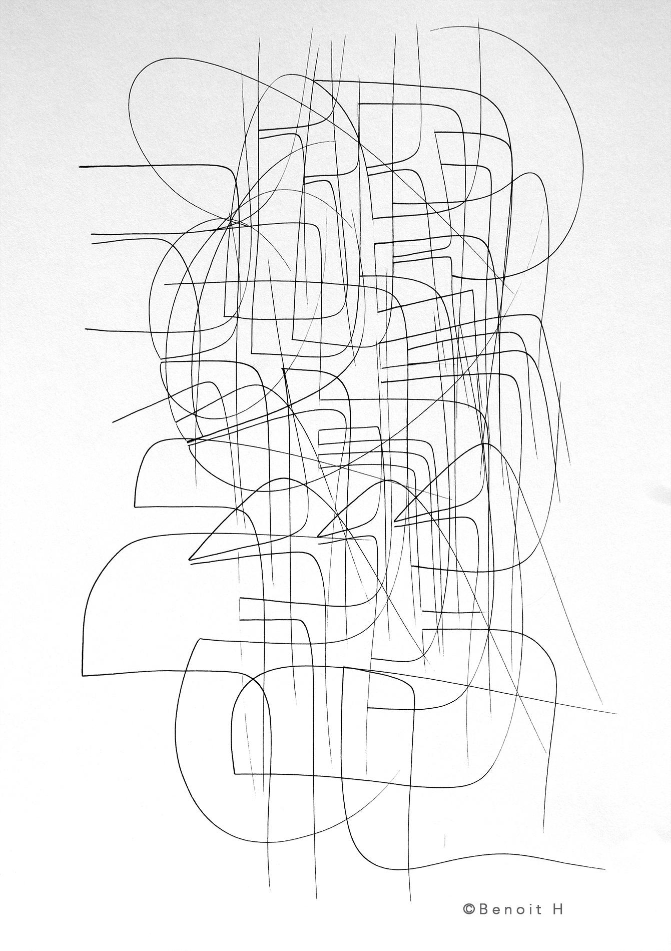 Mise en ligne du site de l'artiste Benoit H